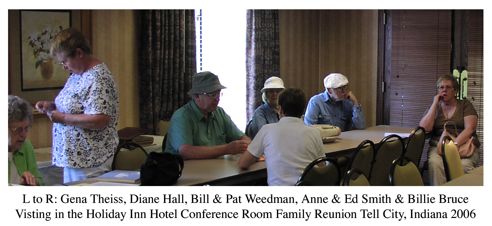 Indiana perry county bristow - Those In Attendants At This Years Meeting Were Billie And Jim Bruce Jeff And Jane Weedman Kati Weedman Alma Ford Carl And Carolyn Weedman Springer