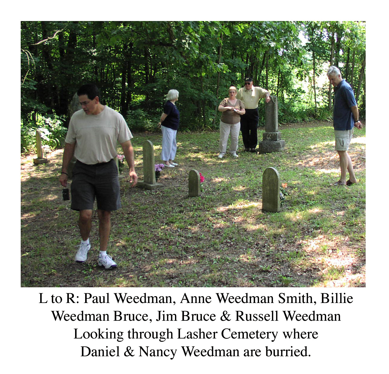 Indiana perry county bristow - At The Top Of The Hill Off Hwy 145 Is Bristow Cemetery Where Many Weedman And Related Family Members Are Buried Nick Weedman Spoke To The Group On The